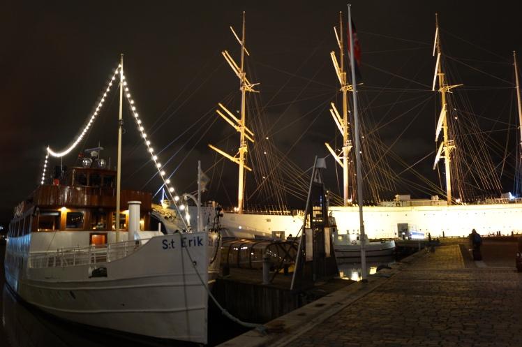 Illuminated boats