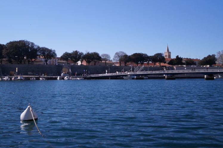This is our small harbour called Jazine. Place where lots of ships find their peace.