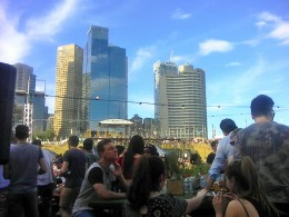 My view of the fancy Melbourne
