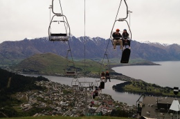 From the Queenstown's top